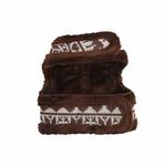 View Image 2 of Reindeer Pinka Dog Harness by Pinkaholic - Brown