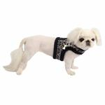 View Image 1 of Reindeer Pinka Dog Harness by Pinkaholic - Navy