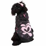 View Image 1 of Ritzy Dog Hoodie by Pinkaholic - Gray