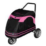 View Image 1 of Roadster Pet Stroller - Black/Pink