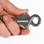 View Image 3 of Roamer Dog Leash by RuffWear - Obsidian Black