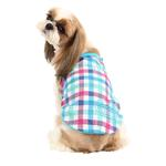 View Image 1 of Romance Dog Shirt by Puppia - Aqua