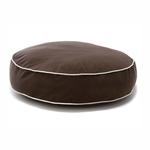 View Image 1 of Round Dog Bed by Dog Gone Smart - Brown
