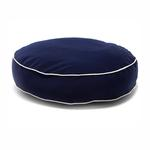 View Image 1 of Round Dog Bed by Dog Gone Smart - Navy