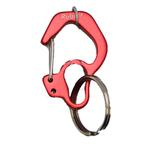 Rubit Dog Tag Clip - Red Curve