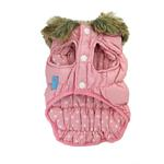 View Image 1 of Ruched Bubble Jacket by Dogo - Pink