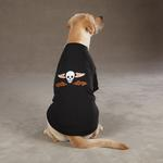 View Image 1 of Ruff N' Tuff Dog T-Shirt - Black