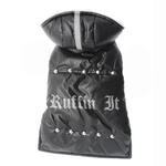 View Image 1 of Ruffin It Dog Parka - Black