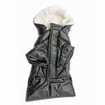 View Image 4 of Ruffin It Dog Parka - Black
