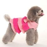 View Image 2 of Ruffle Tiered Dog Sweater Dress by Dogo
