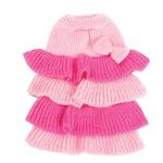 View Image 1 of Ruffle Tiered Dog Sweater Dress by Dogo