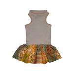 View Image 1 of Ruffled Green Tank Dog Dress