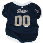 View Image 1 of San Diego Padres Baseball Dog Jersey