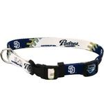 View Image 1 of San Diego Padres Baseball Printed Dog Collar