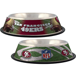 View Image 1 of San Francisco 49ers Dog Bowl