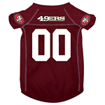 View Image 1 of San Francisco 49ers Dog Jersey