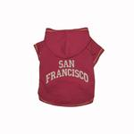 View Image 1 of San Francisco Dog Hoodie