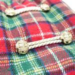 View Image 6 of Santa Plaid Dog Coat by Dogo