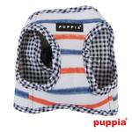 View Image 2 of Sappy Dog Harness by Puppia - Navy
