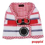 View Image 2 of Sappy Dog Harness by Puppia - Red