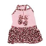 Sassy Leopard Dog Dress by Dogo