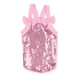 View Image 3 of Sassy Sequin Dog Tank Top - Pink