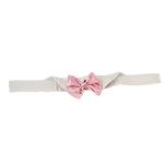 View Image 1 of Satin Dog Bowtie Collar - Pink