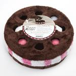 View Image 1 of Savvy Tabby Cookie Challenge Cat Toy