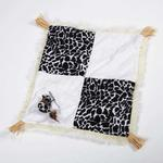 View Image 2 of Savvy Tabby Wild Time Play Patch Cat Toy - Black