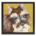 View Image 1 of Schnauzer Oil Painting
