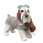 View Image 1 of Schnauzer Standing Christmas Ornament - Gray