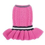 View Image 1 of School Girl Dog Sweater Dress by Dogo