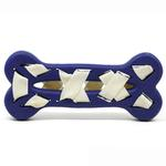 View Image 3 of Seamsters Rubber/Rawhide Weave Bone Toy