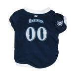 View Image 1 of Seattle Mariners Baseball Dog Jersey