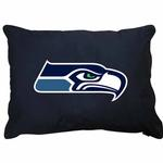 View Image 1 of Seattle Seahawks Dog Bed
