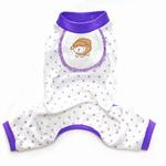 View Image 1 of Sheep Design Dog Pajamas - Lavender