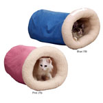 View Image 2 of Sherpa Kitty Cat Tumble Beds by Savvy Tabby