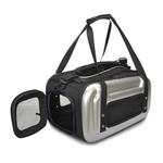 View Image 1 of Sherpa Sport Pop Tote Airline Pet Carrier - Silver EVA