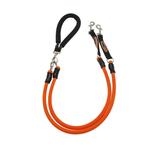 View Image 1 of EZ Steps Shock Absorbing Low Impact Coupler Leash - Orange
