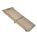 Short Carpeted Bi-Fold Pet Ramp - Tan