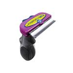 View Image 1 of Short Hair FURminator for Large Cats - Purple