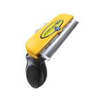 View Image 1 of Short Hair FURminator for Large Dogs - Yellow