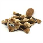 View Image 1 of Sidney the Squirrel Squeaker Mat Dog Toy