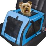 View Image 1 of Signature Pet Car Seat And Carrier - Aqua