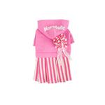 View Image 1 of Signature Pinkaholic Stripe Dress - Hot Pink
