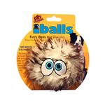 View Image 1 of Silly Squeakers Dog Toys - iBalls Brown