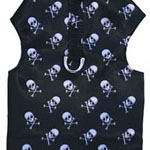 Skull Bone Dog Harness Vest