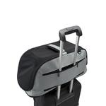 View Image 2 of Sleepypod Air Travel Pet Carrier Bed - Glacier Silver