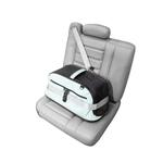 View Image 3 of Sleepypod Air Travel Pet Carrier Bed - Glacier Silver