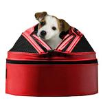 View Image 1 of Sleepypod Mobile Pet Carrier Bed - Strawberry Red